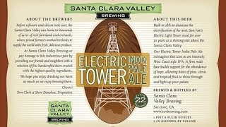 Santa Clara Valley Brewing: Electric Tower IPA | The Beer Heads - Beer Review #401
