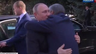Putin Welcomed as a Dear Friend in Ex-Soviet Kyrgyzstan (Central Asia Republic)