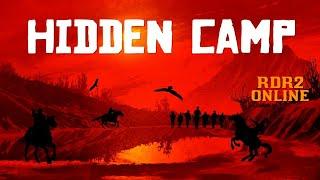 RDR2 Online Hidden Camp Secret Camp Found Online