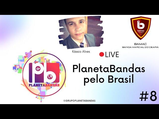 Live PlanetaBandas #8 - Equipe PB com Kássio Alves