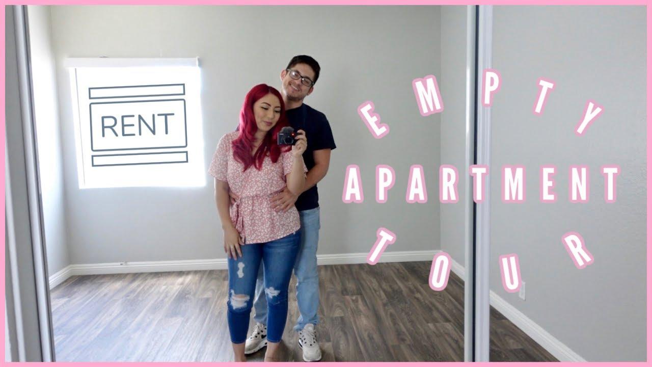 Empty Apartment Tour - MY FIRST APARTMENT | Romina Vasquez