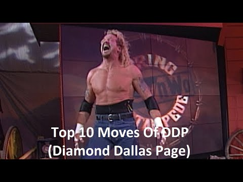 Top 10 Moves Of DDP (Diamond Dallas Page)