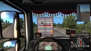 Быдло получает по заслугам в Euro Truck Simulator 2