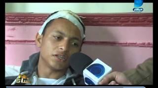 بالفيديو.. الطالب الناجي من حادث دهس قطار الشرقية: 'كان نفسي أموت بدل أصحابي'