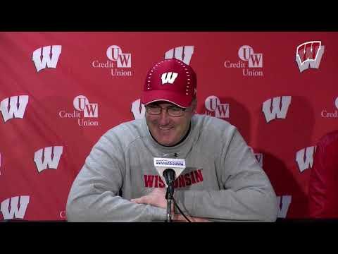 Postgame Presser: Wisconsin 31, Rutgers 17
