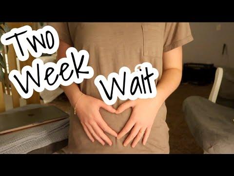 TWO WEEK WAIT SYMPTOMS | Positive Pregnancy Test