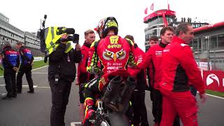 Behind the scenes with Be Wiser Ducati at Brands Hatch