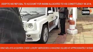 Despite Refusal To Account for N409M, Melaye Acquires 3 G-Wagons Valued At N150M