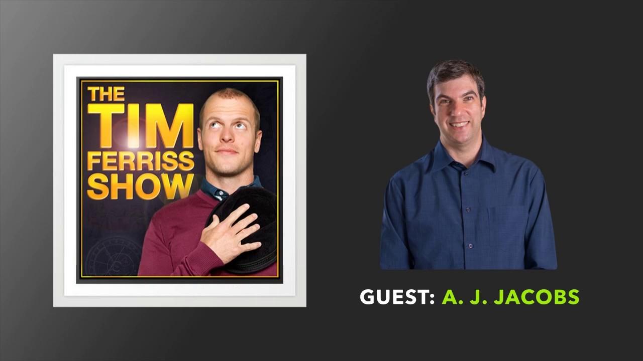 Aj jacobs podcast