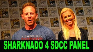 Sharknado 4 - Ian Ziering, Tara Reid - Comic Con Panel July 22, 2016