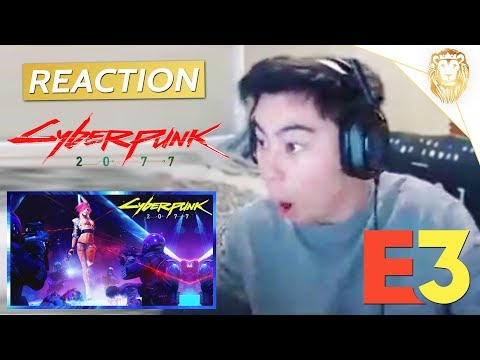 Cyberpunk 2077 World Premiere Trailer (Official) - REACTION!!!