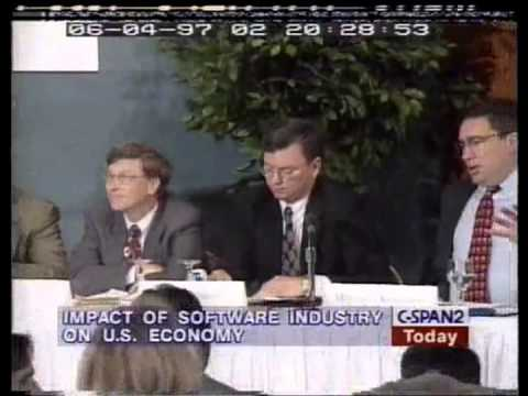 Bill Gates on the Impact of the Software Industry on the U.S. Economy (1997)