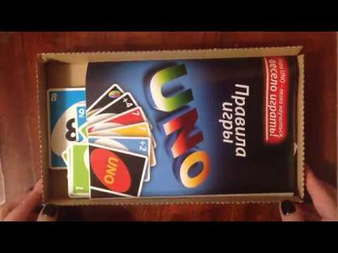 Обзор карточной игры UNO от фирмы Enfant