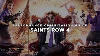 Saints Row 4 - How To Fix Lag/Get More FPS and Improve Performance