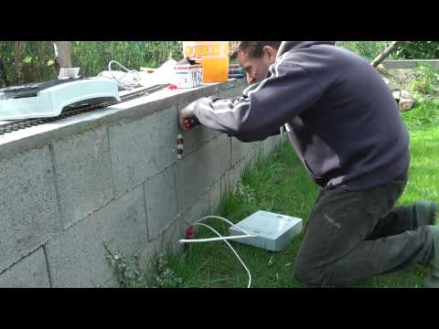 Garden Railway is Born - Electrical Work