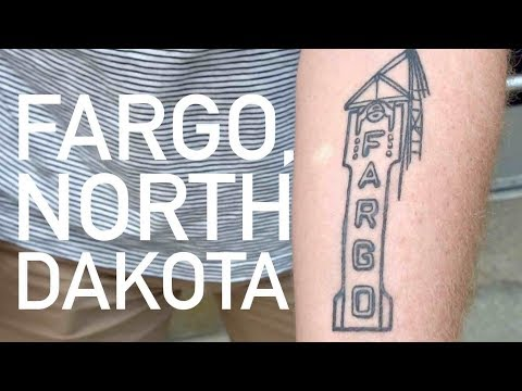 The real Fargo, North Dakota...