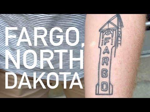 The real Fargo, North Dakota...