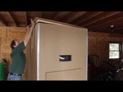 Do-it-Yourself Bulk Wood Pellet Storage Bins from Kingdom BioFuel