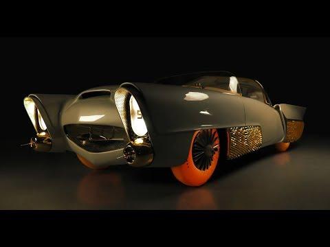 Golden Sahara II: el coche autónomo de los años 50