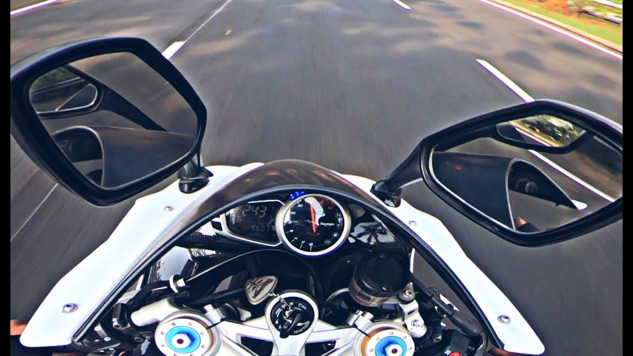 All about DAYTONA 675r | Top Speed ? Road Rage? - YouTube