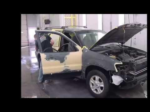 2003 Ford Escape Holland Auto Body work by Robinson's Body Shop