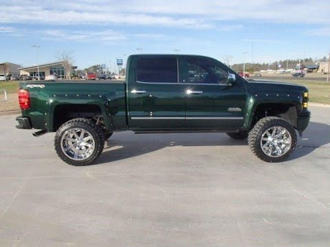 2015 chevrolet silverado 1500 high country lifted truck youtube. Black Bedroom Furniture Sets. Home Design Ideas