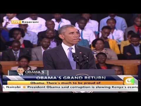 President Obamas Full Address At Kasarani