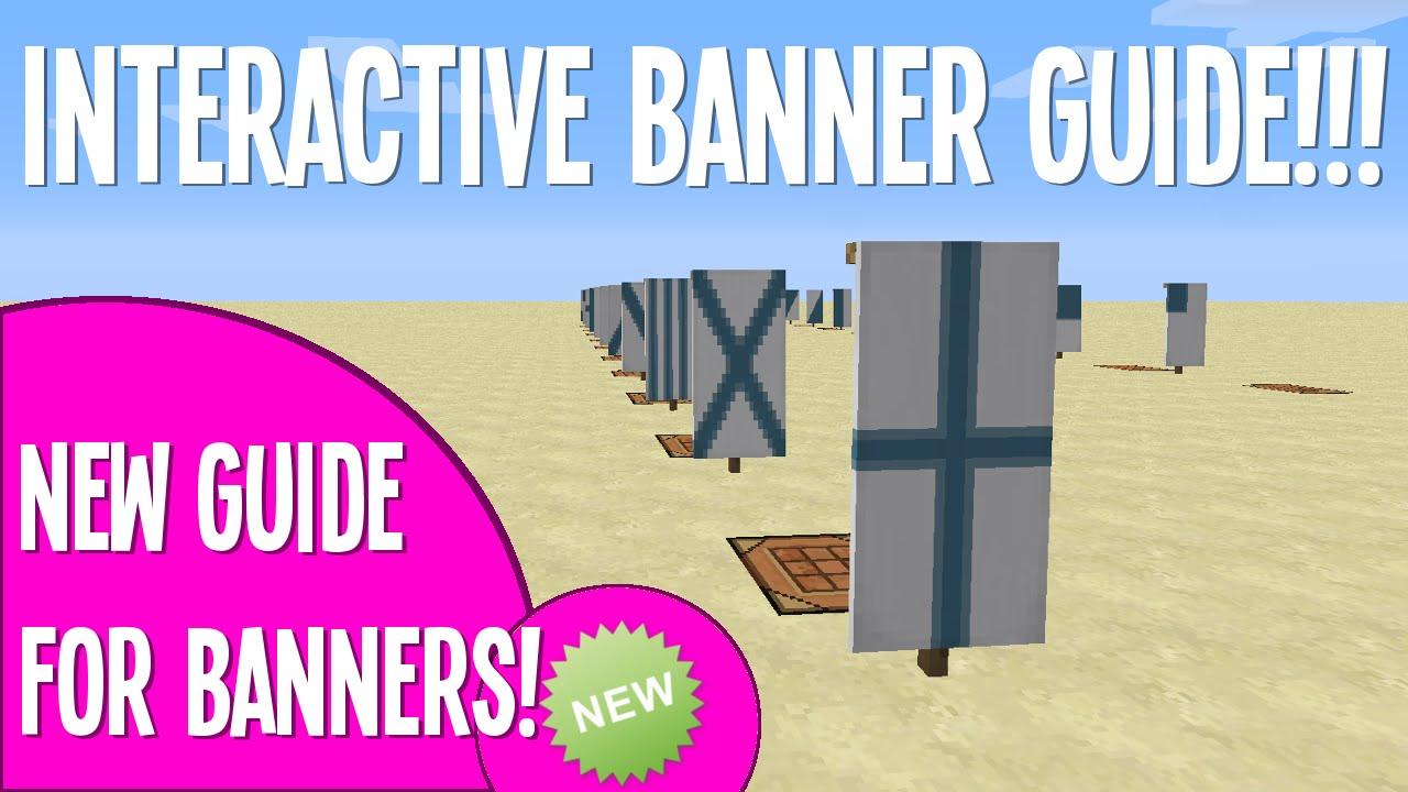 banner recipe guide    minecraft  interactive
