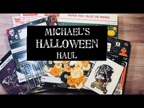 Michael's Halloween Haul