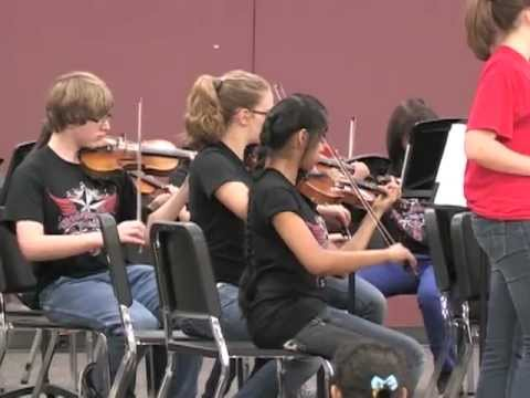 Irish Whistle Perf by Ulrich Intermediate School Chamber Orchestra - May2012