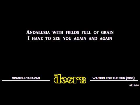 Lyrics for Spanish Caravan - The Doors