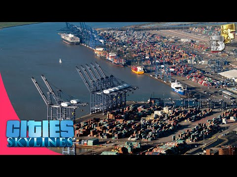 Cities Skylines Cargo Harbor (Cargo Ships) Tutorial