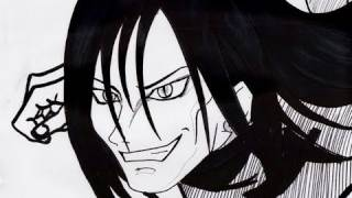 HOW TO DRAW OROCHIMARU 大蛇丸