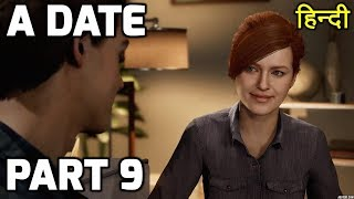 Spiderman PS4 Gameplay PART 9 HINDI | A ROMANTIC DATE |