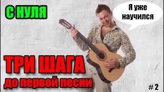 🎸 Уроки игры на гитаре С НУЛЯ (Урок 2) - перебор, табы, композиции