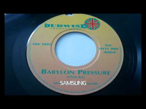 Chris Jay - Babylon Pressure