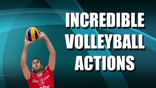 Incredible Volleyball Actions