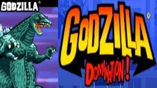 Godzilla - Domination - Godzilla (GBA)