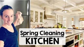 Spring Cleaning | Deep Cleaning Kitchen