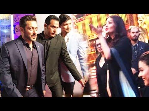 Aishwarya AVOIDS FACING Salman @ Big Zee Entertainment Awards 2017