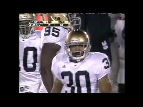 2005 #6 Notre Dame at Stanford