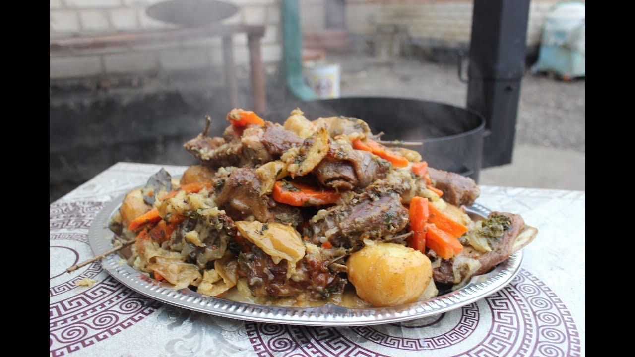 Кролик по Кавказски в Казане с Овощами. Секретный|рецепт как приготовить кролика вкусно