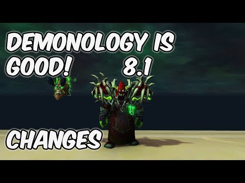 Demonology IS GOOD - 8.1 Demonology Warlock PvP - WoW BFA