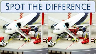 [ Brain games ] Ep.026 Transport_01.Airplanes | Spot the difference | photo puzzles | Healing