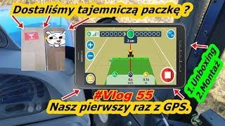 #Vlog 55 Tajemnicza paczka! | GPS na małe gospodarstwo? | Unboxing nawigacji do NH | Montaż |