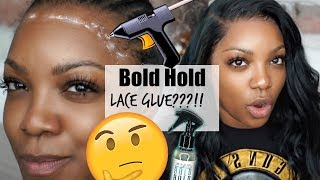 Bold Hold Lace Glue : Bruh.... my edges are basically snatched