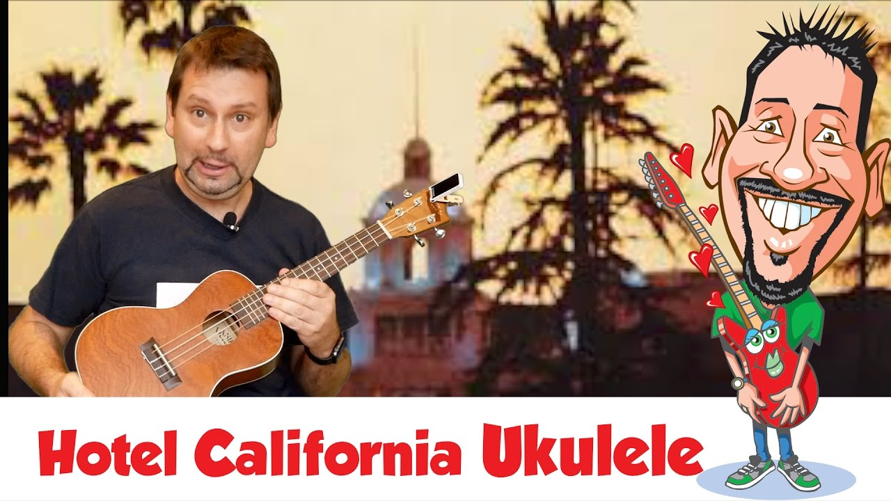 hotel california solo on ukulele youtube. Black Bedroom Furniture Sets. Home Design Ideas