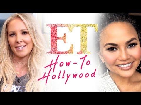 Chrissy Teigen's Fall Makeup Tutorial With Celebrity Makeup Artist Lyndsay Zavitz | HTH
