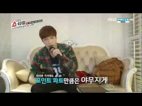 Lay singing Gee Gee funny cut -Exo Showtime Ep.11