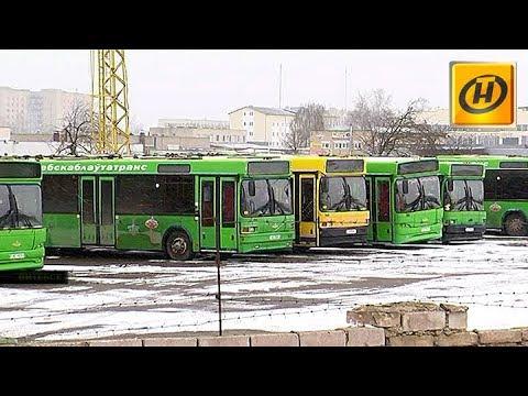 Перебои с топливом в Витебске: каждый третий автобус не вышел на маршрут